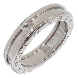 Bulgari Bvlgari B.Zero1 18K White Gold Band Ring 5.5