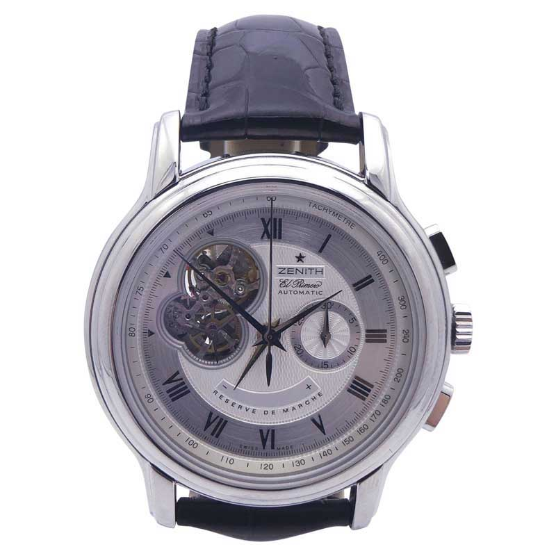 """Image of """"Zenith Chronomaster XXT 03.1260.4021.02.c505 Stainless Steel Silver"""""""