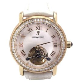 Audemars Piguet Jules Tourbillon 26084OR.ZZ.D016CR.01 Rose Gold Diamonds 39mm Womens Watch