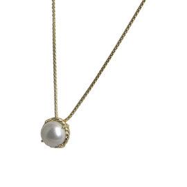 David Yurman Chatelaine 18K Yellow Gold & Pearl Necklace