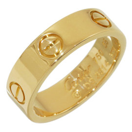 Cartier 18K Yellow Gold Love Ring Size 7.25