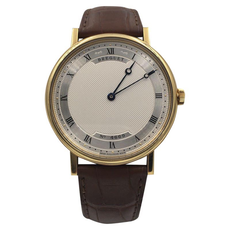 "Image of ""Breguet Classique Ultra Slim 5157Ba 18K Yellow Gold Automatic 38mm"""