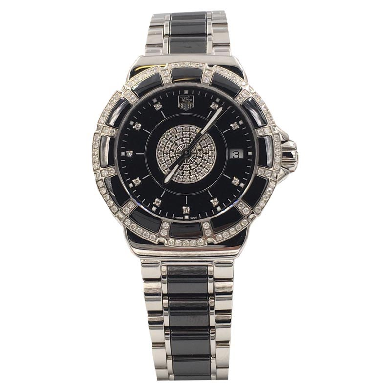 """Image of """"Tag Heuer Formula 1 Wah1219 Stainless Steel Quartz 37mm Womens Watch"""""""