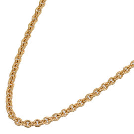 Bulgari 18K Rose Gold Chain Necklace