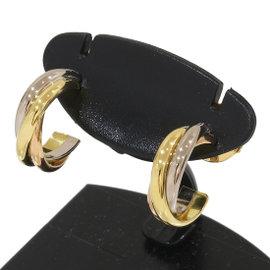 Cartier Trinity de Cartier 18K Yellow, White & Rose Gold Earrings