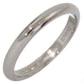Bulgari Fedi PT950 Platinum Wedding Band Ring Size 8.25