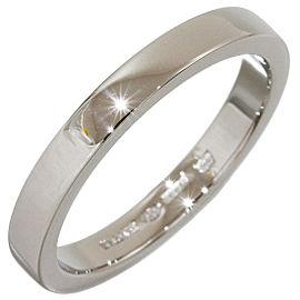 Bulgari Marryme PT950 Platinum Wedding Band Ring Size 7.75