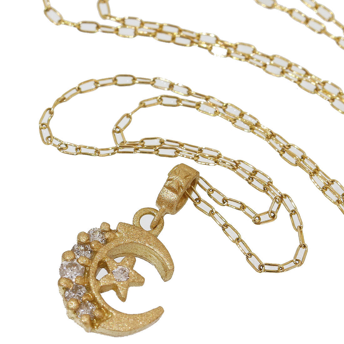 "Image of ""Loree Rodkin 18K Yellow Gold with Diamond Pendant Necklace"""