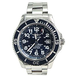 Breitling SuperOcean II A17365D1 Stainless Steel Blue Dial Automatic 42mm Mens Watch