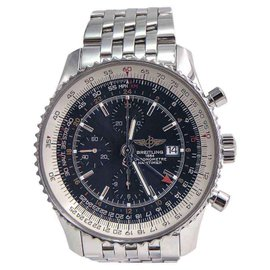 Breitling Navitimer A2432212 Stainless Steel Blue Dial Automatic 46mm Mens Watch