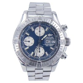Breitling SuperOcean A13340 Stainless Steel with Blue Dial 42mm Mens Watch