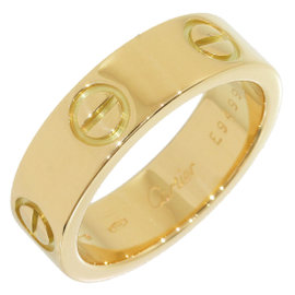 Cartier Love 18K Yellow Gold Ring Size 5.75
