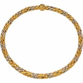 Chimento 18K White & Yellow Gold Stretch Collection Necklace