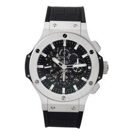 Hublot Big Bang Steel 44mm 301.sx.130.rx Black Rubber Watch