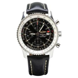 Breitling Navtimer World A24322 Chronograph GMT Automatic Black 46mm Watch