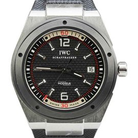 IWC IW323401 Ingeniuer Automatic Stainless Steel Ceramic Bezel 44mm Watch