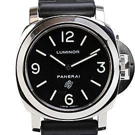 "Panerai Luminor ""Logo"" PAM 000 Mechanical 44mm Dive Watch"