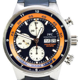 IWC Aquatimer 3781 Chronograph Cousteau Diver Limited Edition Watch