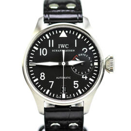IWC Big Pilot IW500901 5009 Classic Power Reserve Stainless Steel 46mm Watch