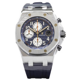 Audemars Piguet Royal Oak Offshore 26470ST.OO.A027CA.01 Navy Blue Chronograph Stainless Steel Automatic 42mm Mens Watch