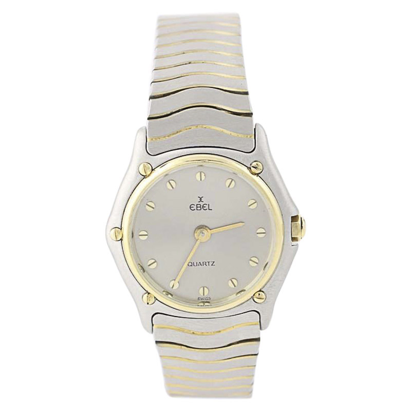 """Image of """"Ebel Stainless Steel & 18K Yellow Gold Quartz 26mm Womens Watch"""""""