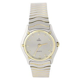 Ebel Stainless Steel & 18K Yellow Gold Quartz 26mm Womens Watch