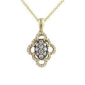 Le Vian 14K Yellow Gold .55ct. Diamond Pendant Necklace