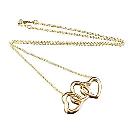 Tiffany & Co. 18K Yellow Gold Heart Pendant Necklace