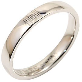 Hermes 18K White Gold Alliance Kelly Ring Size 6.5