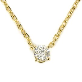 Cartier 18K Yellow Gold with 0.23ct Diamond Necklace