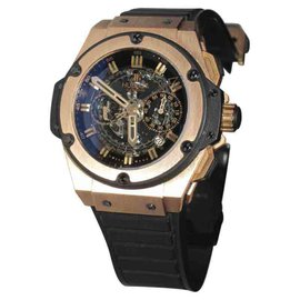 Hublot King Power 701.OX.0180.RX 18K Rose Gold Automatic 48mm Mens Watch