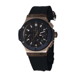 Hublot Big Bang 301.PM.1780.RX 18K Solid Rose Gold Automatic Chronograph Ceramic 44mm Mens Watch