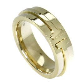 Tiffany & Co. 18K Yellow Gold Tsuna Rolling Ring Size 4.25