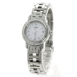 Hermes Clipper CL4.210 Stainless Steel 24mm Womens Watch