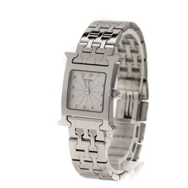 Hermes H Watch HH.210 Stainless Steel 21mm Womens Watch