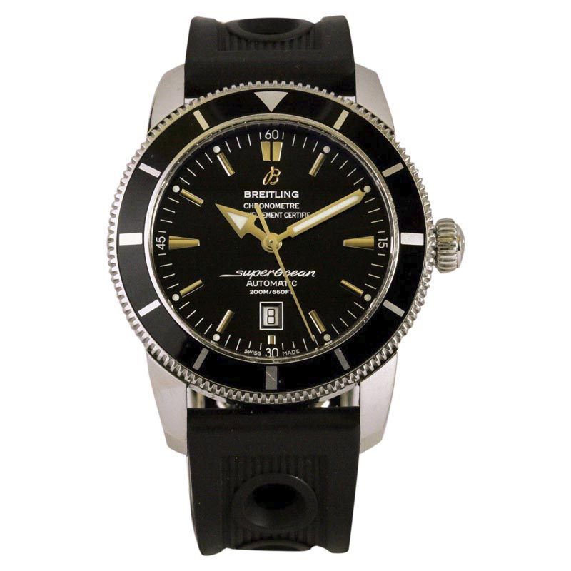 """Image of """"Breitling Aeromarine SuperOcean A17320 Stainless Steel 46mm Mens Watch"""""""