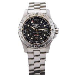 Breitling Aeromarine SuperOcean A17390 Stainless Steel 44mm Mens Watch