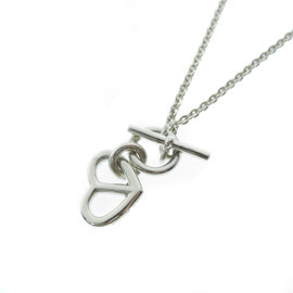 Hermes Silver Amulet Necklace