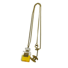 Chanel Vintage CC Logos Gold-Tone Hardware and Plastic Necklace