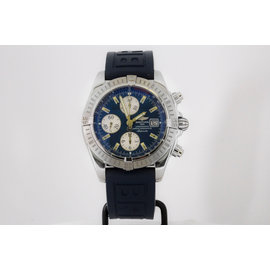 Breitling Windrider Chronomat Evolution A13356 Stainless Steel Automatic 43mm Mens Watch