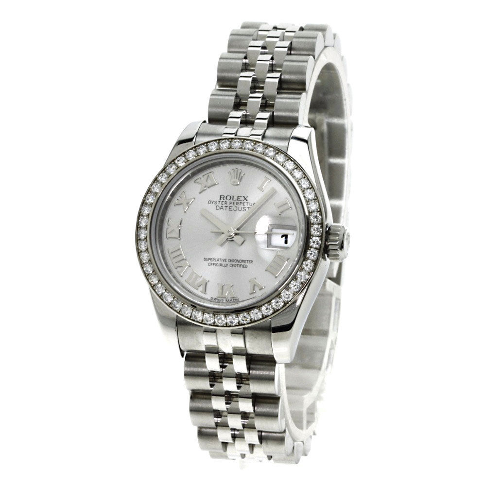 """Image of """"Rolex Datejust 179384 18K White Gold/Stainless Steel Diamond 26mm"""""""