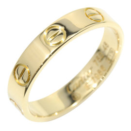 Cartier Mini Love 18K Yellow Gold Ring Size 4.5