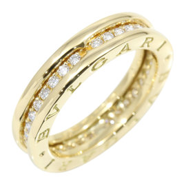 Bulgari B-Zero 1 18K Yellow Gold with Diamond Ring Size 7