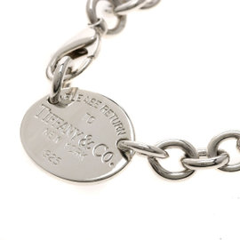 Tiffany & Co. Return To Tiffany Sterling Silver Tag Necklace