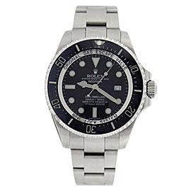 Rolex Sea Sea Dweller 116660 Stainless Steel Deep Black Dial Black Mens Watch