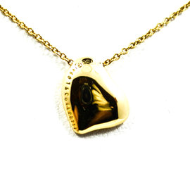 Tiffany & Co. Elsa Peretti 18K Yellow Gold Heart Pendant Necklace