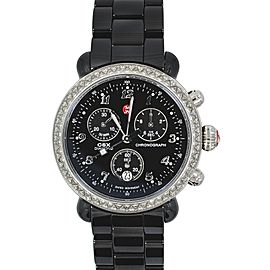 Michele CSX MWW03N000003 Black Ceramic Steel Ladies Watch