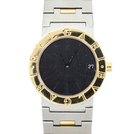 Bvlgari BB30SGD Quartz 18k Yellow Gold and Stainless Steel Two Tone Bezel Watch