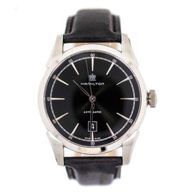Hamilton Spirit Of Liberty Stainless Steel Automatic Black Dial Date Men's
