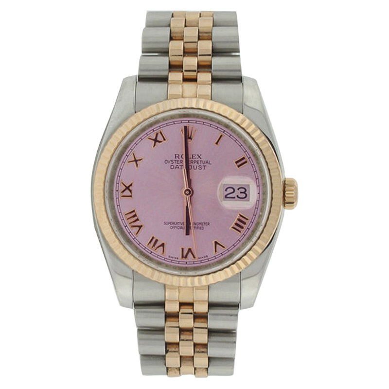 """Image of """"Rolex Datejust 116231 Jubilee Stainless Steel & 18K Rose Gold Pink"""""""